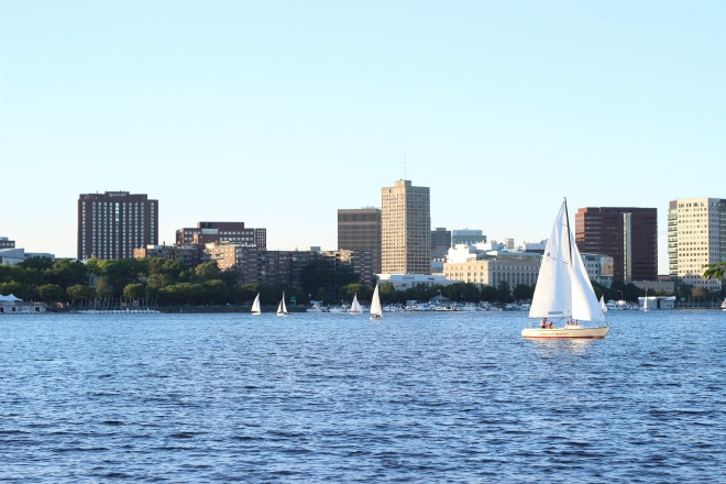 taken on the Charles River Esplanade